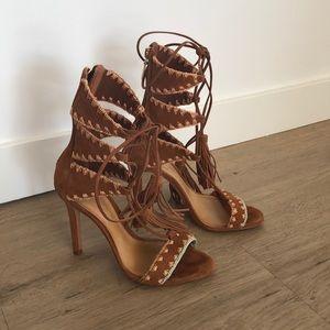 Schutz heel sandals